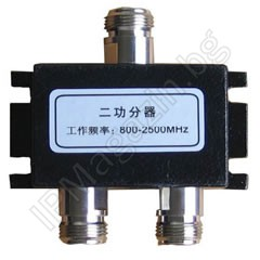 800-2500MHz, double, N Female, splitter for antenna