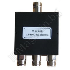800-2500MHz, triple, N Female, splitter for antenna