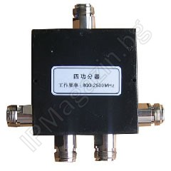 800-2500MHz, quadruple, N Female, splitter for antenna