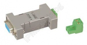 RS001 - Converter from RS232 to RS485 interface