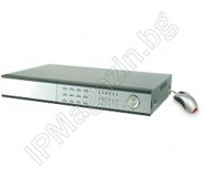 TD2316ME sixteen channel, digital video recorder, 16 channel DVR