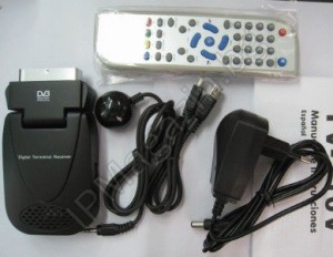 DVB-T Тунер DTR4659 SCART / USB PVR, SD Media Player