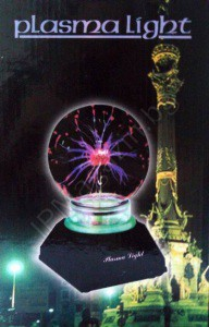 "5 "", plasma globe, with sound, 220V"