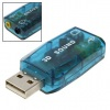 Lead 3D Sound 5.1 Tide USB Sound Card