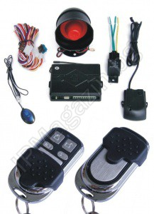 IP-AA005 - auto alarm, shock sensor, 2 remote controls, with 4 buttons