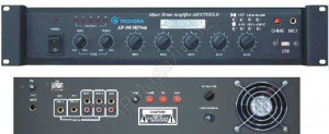 AP-200M - 70W, 5 inputs, built-in RF tuner, USB, MP3 player, Mixer Amplifier