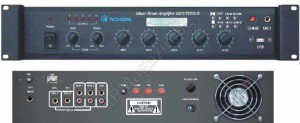 AP-600M - 260W, with built-in RF tuner, USB, MP3 player, Mixer Amplifier