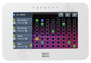 "PARADOX TM40 - keyboard, 4.3 ""color, touchscreen, screen"