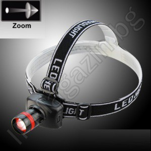 BL-6609 CREE Q5 5W LED - Headlamp projector lamp setting the focus in