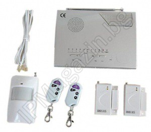 IP-AP006-1 - wireless, home alarm system, 1 volumetric motion sensor, 2 MUKa, 2 remote