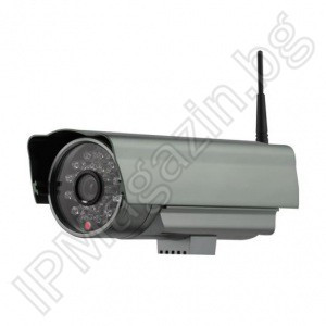 F-105 - 25m, external mounting, wireless, 0.3MP IP Camera for Surveillance