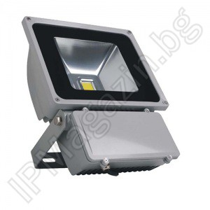 LED projector, 90W, outdoor installation