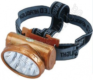 YJ-1898 - rechargeable, LED headlamp, headlamp, 13 diodes, 2 modes of illumination