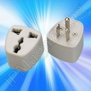Power Supply Adapter from BG to US Standard