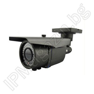 KD-6921A - 2.8-12mm, 40m, outdoor installation, bullet, 2MP 1080P IP Camera for Surveillance