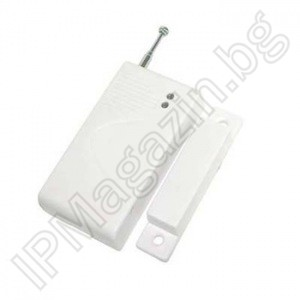 IPMUK-AP001 - wireless, magnetic contact, MUX, for door or window, for GSM alarm IP-AP010, IP-AP014, IP-AP013, IP-AP021