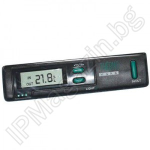 IP141 - car thermometer, LCD display, outdoor and indoor temperature measurement