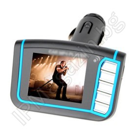"1.8"" LCD MP3 Player FM трансмитер - USB/SD Card"