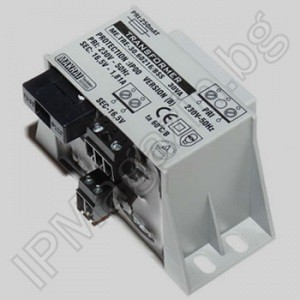 mains transformers with built-in thermal fuse 30 VA