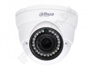 HAC-HDW1200RP-VF-S3-27135 - 2.7-13.5mm, 30m, external mounting, dome 2MP 1080P Full HD, HDCVI, Surveillance Camera, DAHUA, LITE SERIES