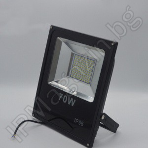 LED spotlight, 70W, SMD, outdoor installation