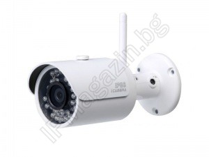 IPC-HFW-1320S-W-0360B - 3.6mm, 30m, external mounting, bullet, 3MP 1296P WiFi, wireless, IP surveillance camera, DAHUA