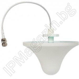 Indoor, ohmic antenna, 3dbi, 800-1900MHz, for GSM amplifier