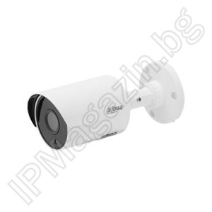 HAC-HFW1100SL-0360B - 3.6mm, 30m, external mounting, bullet 1MP 720P HD, HDCVI, surveillance camera, DAHUA