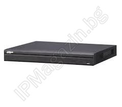 NVR2104HS-P-4KS2 - 4 Channel, H.265, 8MP POE, Network Recorder, NVR, DAHUA
