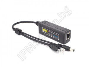 CV-PD3201 - PoE splitter to power controllers, POE switch or injector, 15.4W for port