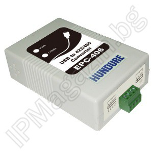EPC-406 - communication converter, USB, RS-232, RS-422, RS485