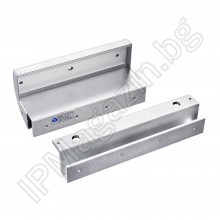 MBK- 280GZ - Double U-bar, for glass doors, with frame frame (frame), for electromagnet YM-280