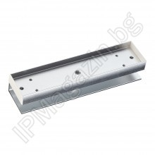 MBK-280U - U-shaped plate for glass doors for electromagnets YM-280