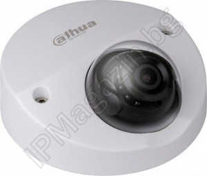 IPC-HDBW4231F-AS-0280B - 2.8mm, 20m, external mounting, dome 2Mpix 1080P FullHD, IP Surveillance Camera, DAHUA, PRO SERIES