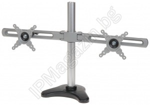 "BL102 - Adjustable, Desktop, Stand for 2 monitors, size 10 ~ 24 "" professional monitor for video surveillance, DAHUA, 24/7"