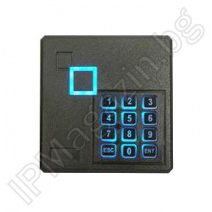 CV-SCD-M03A - 3-6cm, internal mounting, with keyboard, backlight independent controller, MIFARE 13.56MHz