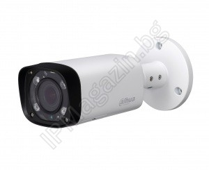 HAC-HFW1220R-VF-IRE6-27135 - 2.7-13.5mm, 60m, external mounting, bullet 2MP 1080P Full HD, HDCVI, Surveillance Camera, DAHUA, LITE SERIES