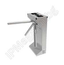 EL128 - solid, three-arm, bi-directional, tourniquet, stainless steel, automatically falling arms