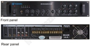 AP-6360W - 360W, with built-in 6-channel zone selector, with individual 5-level Volume Control for each zone, Mixer Amplifier