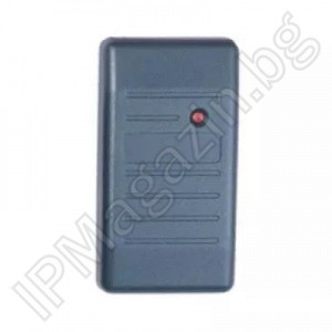 C01-ID + - Wiegand 26, bit interface, 3-6cm, external mounting, non-contact reader, RFID 125kHz