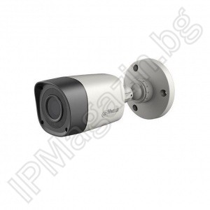HAC-HFW1000R-0280B-S3 - 2.8mm, 20m, external mounting, bullet 1MP 720P HD, HDCVI, surveillance camera, DAHUA