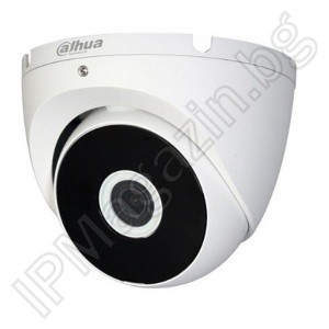 HAC-T2A21-0280B - 2.8mm, 20m, external mounting, dome 2MP 1080P Full HD, HDCVI, Surveillance Camera, DAHUA, LITE SERIES