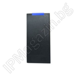 V01-ID - Wiegand 26, bit interface, 3-6cm, external mounting, non-contact reader, RFID 125kHz