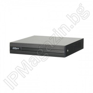 XVR1B08 - 8 (10) channel, 8 chambers + 2 IP, H.265, pentabrill 1.4Mpix, 720P, HD, HDCVI, Digital Video Recorder, DVR, DAHUA