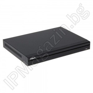 XVR5116HS-X-16 (24) channel, 16 chambers + 8 IP, pentabr 1080P (2.4Mpix), NON-REALTIME, HDCVI, digital video recorder, DVR DAHUA